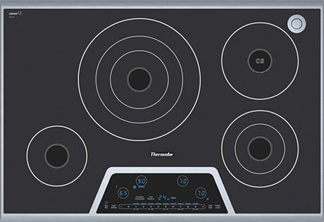 30 Inch Electric Cooktop By Thermador