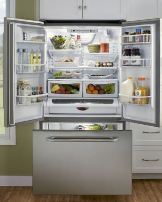 36-inch-refrigerator-dacor-french-door-cabinet-depth-bottom-freezer-open.jpg