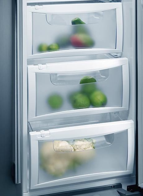 AEG side by side refrigerators