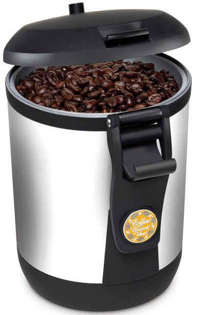 Beanvac Coffee Canister