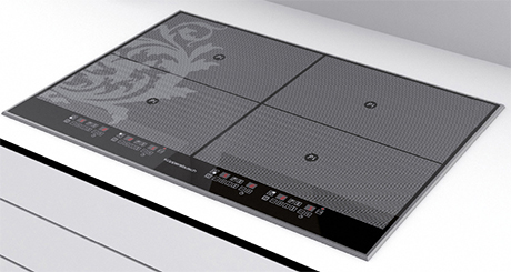 kuppersbusch cooktop from black chrome edition. Black Bedroom Furniture Sets. Home Design Ideas