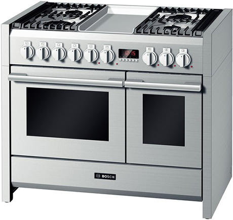 Bosch Range Top >> Bosch Range Stainless Steel Solitaire Cooker