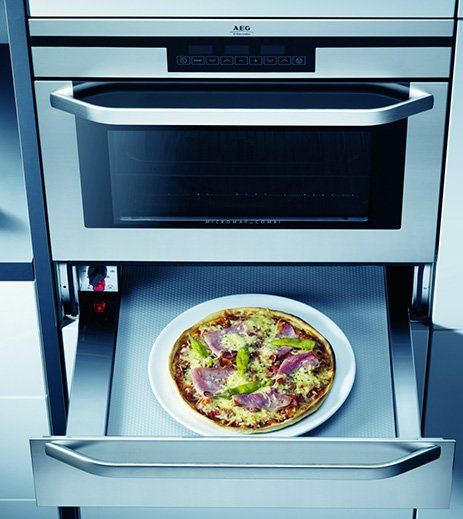 Built In Microwave Oven With Grill Aeg Electrolux