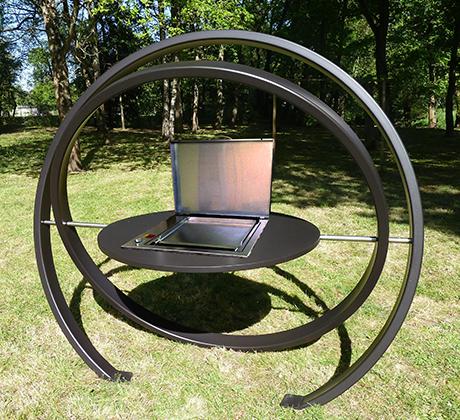 cesarr kara designer barbecue grill. Black Bedroom Furniture Sets. Home Design Ideas