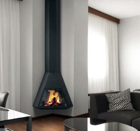 Chazelles Wood Metal Fireplaces