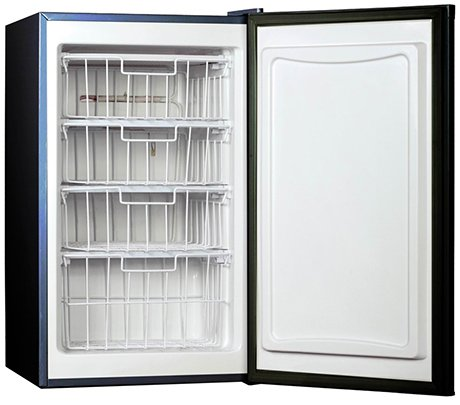 Compact Upright Freezer