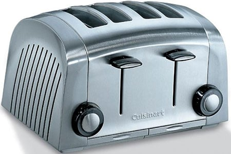 Cuisinart toaster 4 slice with two toasting settings