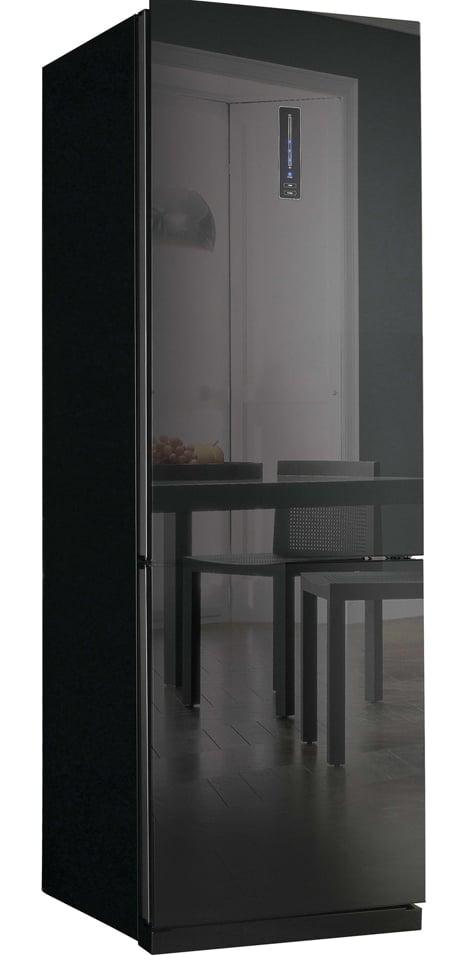 Mirror Glass Door Fridge Freezer From Daewoo