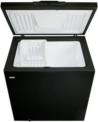 danby-freezer-dcf726bl-open