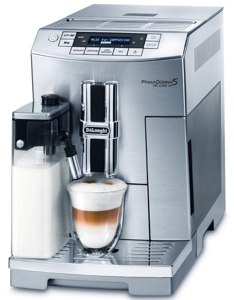 fully automatic espresso machine delonghi primadonna s de luxe. Black Bedroom Furniture Sets. Home Design Ideas