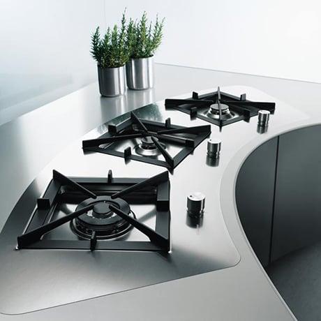 Puzzle modular cooktops by rex electrolux - Rex electrolux cucine a gas ...