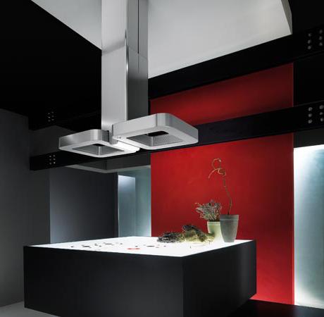 Elica ventilation hoods new gorgeous designs for Cappa design