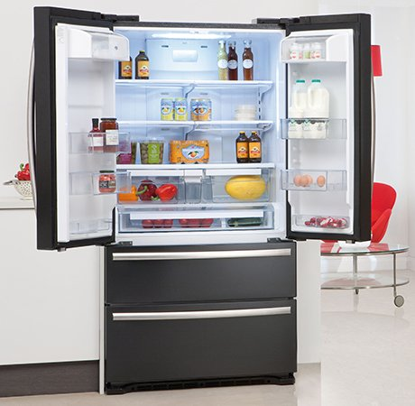 freestanding-fridge-freezer-caple-caff40-black-open.jpg