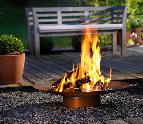 Garden Fireplace From Attika