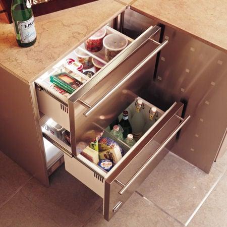 Elegant Ge Monogram Double Drawer Refrigerator Module