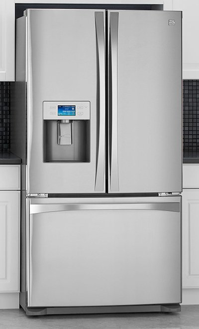 Kenmore Elite Refrigerator Trio 2010 Line Jpg