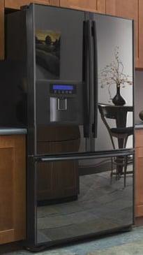 Kenmore Trio Refrigerator In Black Pearl