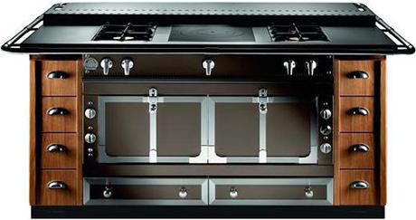 la cornue cocoa range. Black Bedroom Furniture Sets. Home Design Ideas