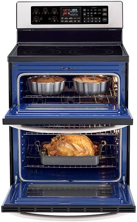 Lg Double Oven Range Cooker Lde3017s Jpg
