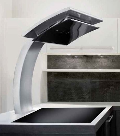 Countertop cooker hood for Down draft range hood