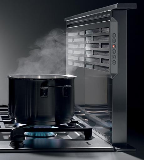 Stove Ventilation Systems : Miele downdraft ventilation