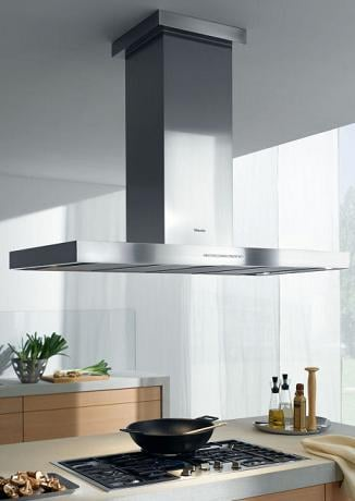Miele Motorized Height Adjustable Ventilation Hood For Modern Hi Tech Kitchen