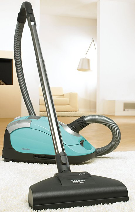 Miele neptune vacuum cleaner in turquoise for Miele vacuum motor brushes