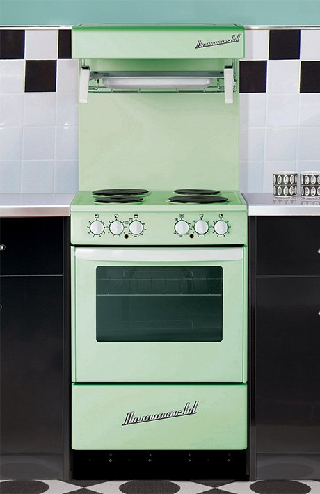 New World Retro Range Cooker 50hlge And 55hlge