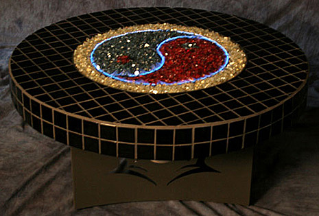 Oriflamme Fire Pit Tables