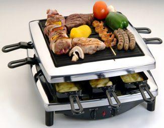 raclette-grill-steba-rc3-plus-chrome