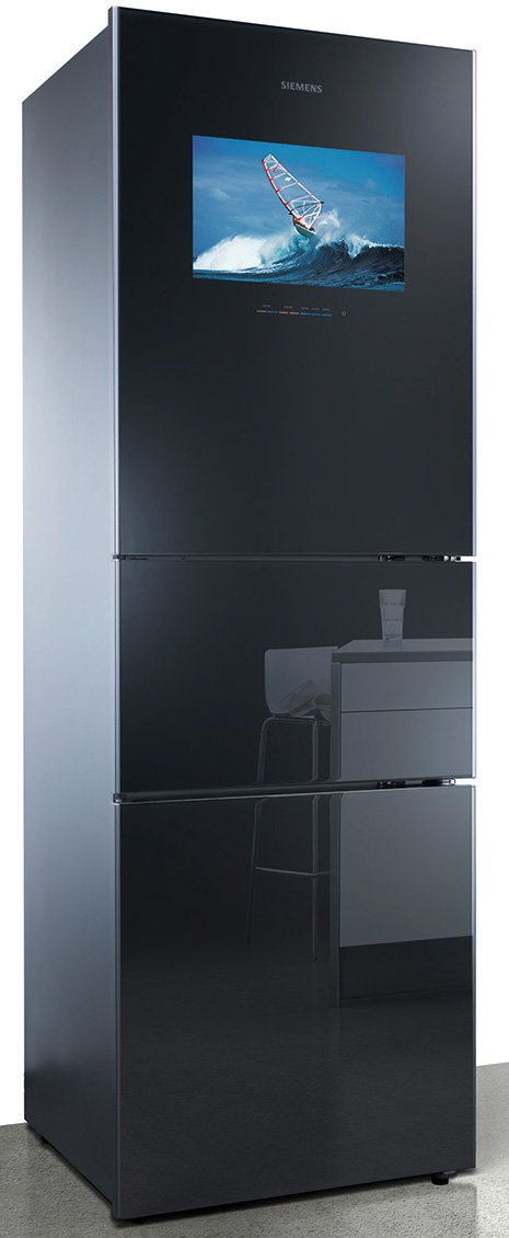 siemens coolmedia refrigerator with vitafresh. Black Bedroom Furniture Sets. Home Design Ideas