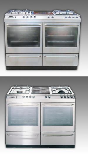 St George Appliances Free Standing Ovens With Cooktops