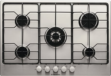 Stainless Steel Gas Cooktop Electrolux Gas Hob Egh7815.