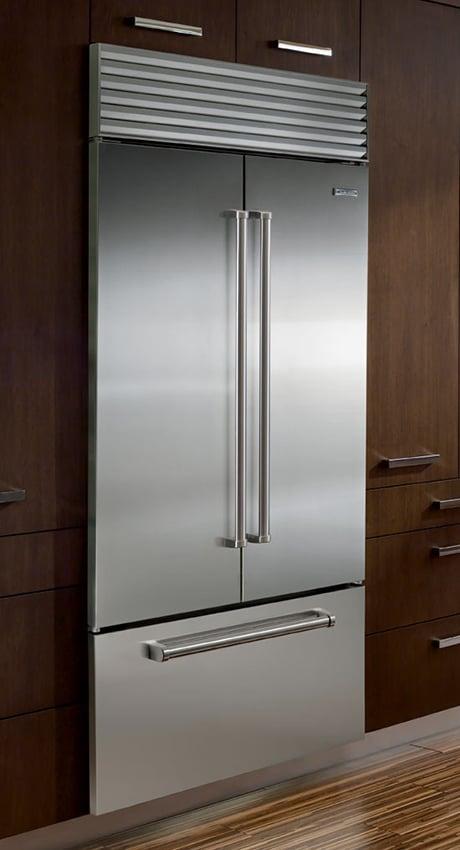 Attirant Sub Zero French Door Refrigerator Bi 36ufd