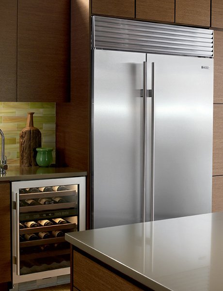 Sub Zero Refrigerator Bi 42sid Internal Dispenser Jpg