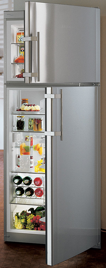 top freezer refrigerator from liebherr. Black Bedroom Furniture Sets. Home Design Ideas