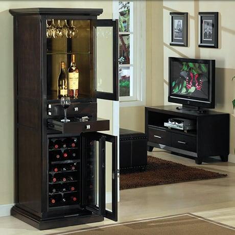 Modern Wine Cabinet Design tresanti wine cabinets