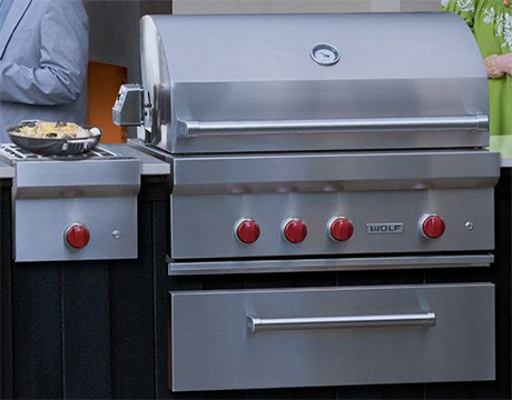 Wolf Grill New Grills And Outdoor Kitchens