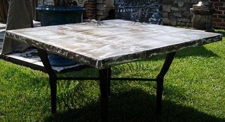 Zinc Tabletop Bastille Metal Works Sheet Metal