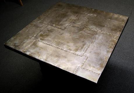 Gentil Zinc Tabletop Bastille Metal Works Sheet
